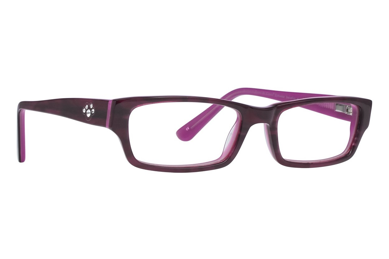 Paws n Claws Paws 622 Purple Glasses