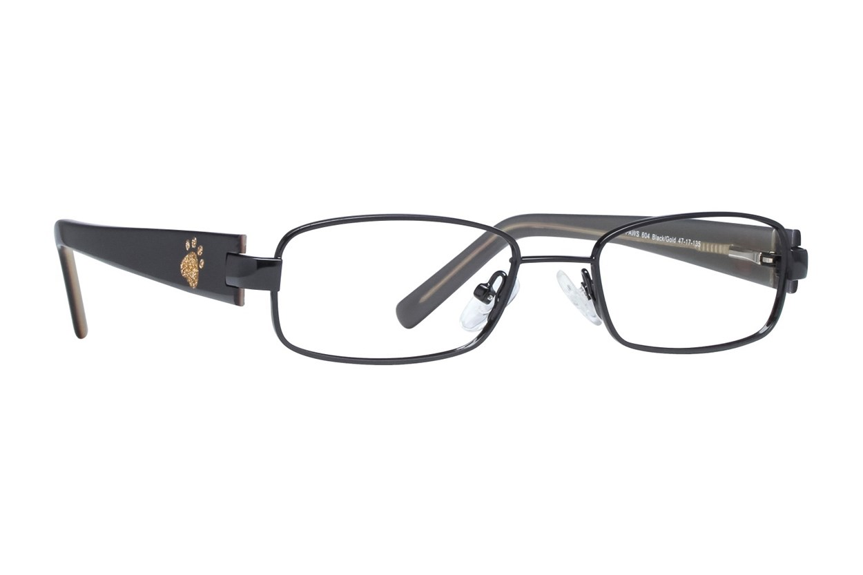 Paws n Claws Paws 604 Black Glasses