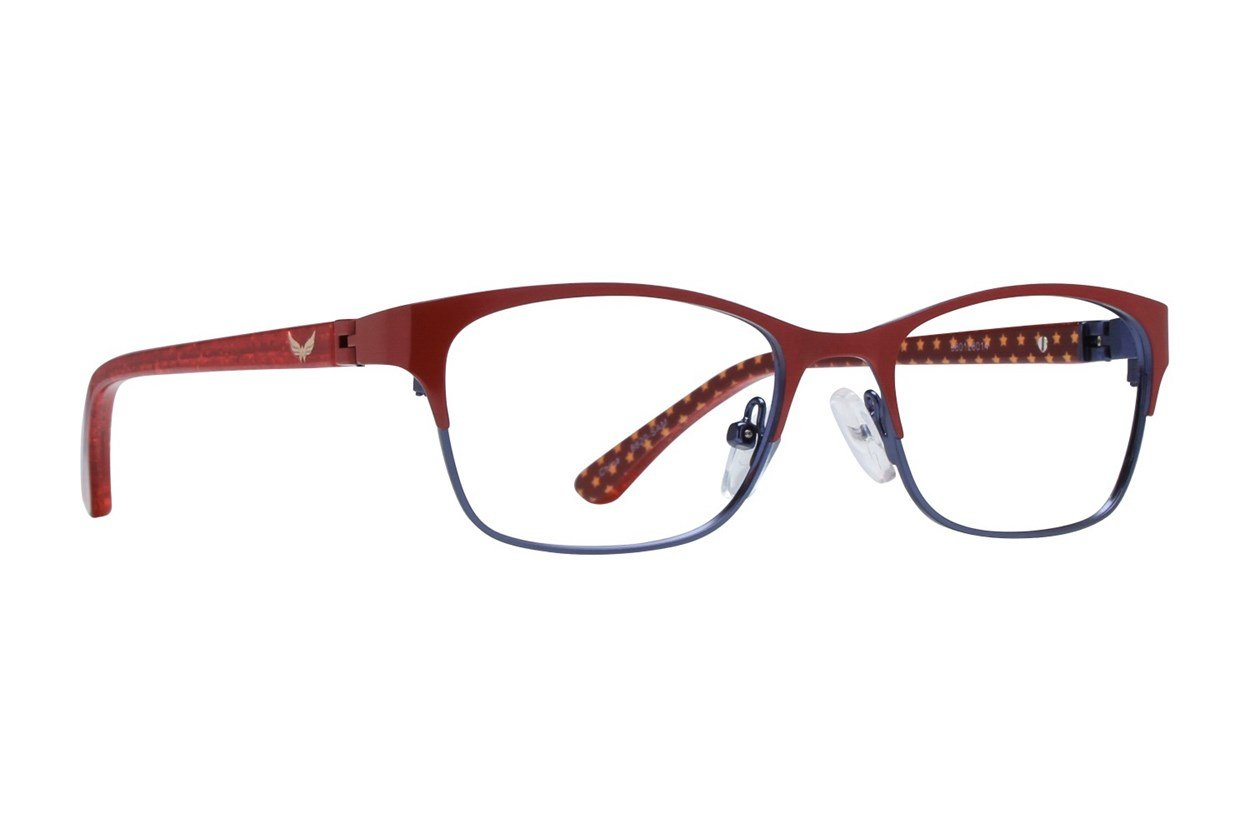 Wonder Woman WWE6 Red Glasses