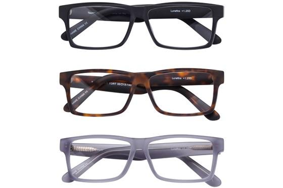 Lunettos Taurus Reading Glasses 3-Pack