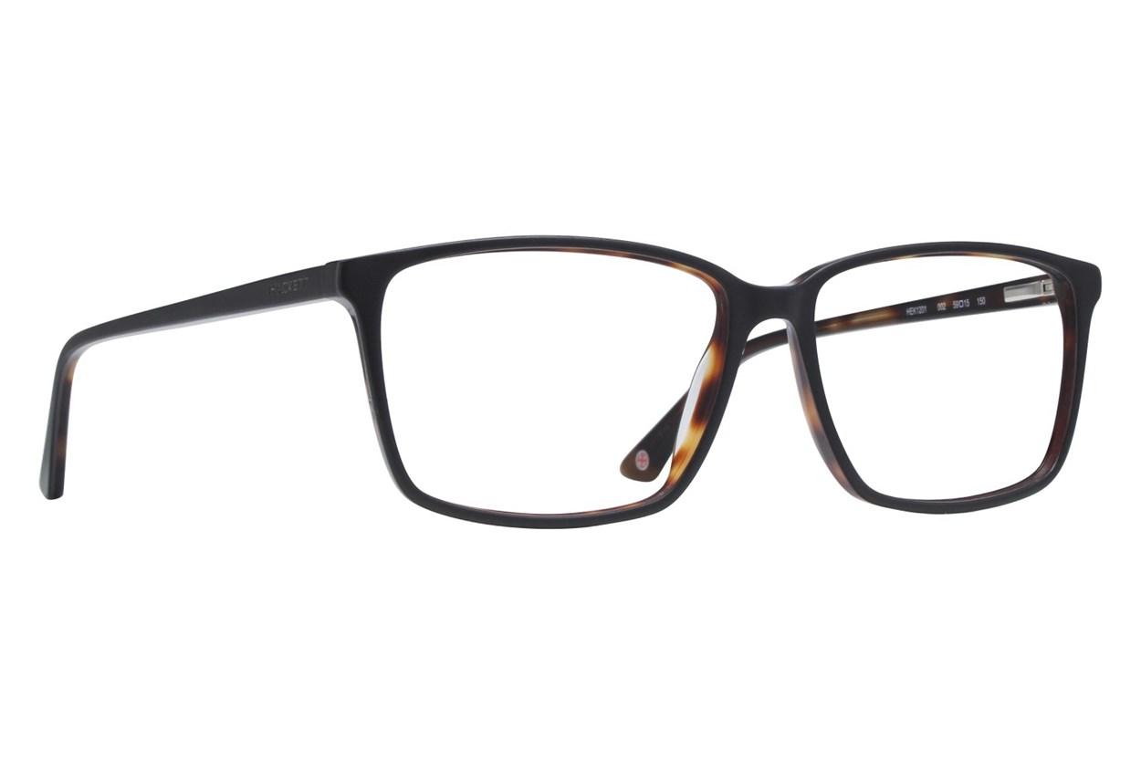 Hackett London Large Fit HEK1201 Black Glasses