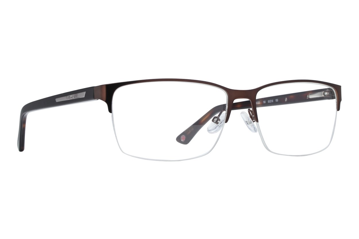 Hackett London Large Fit HEK1203 Brown Glasses