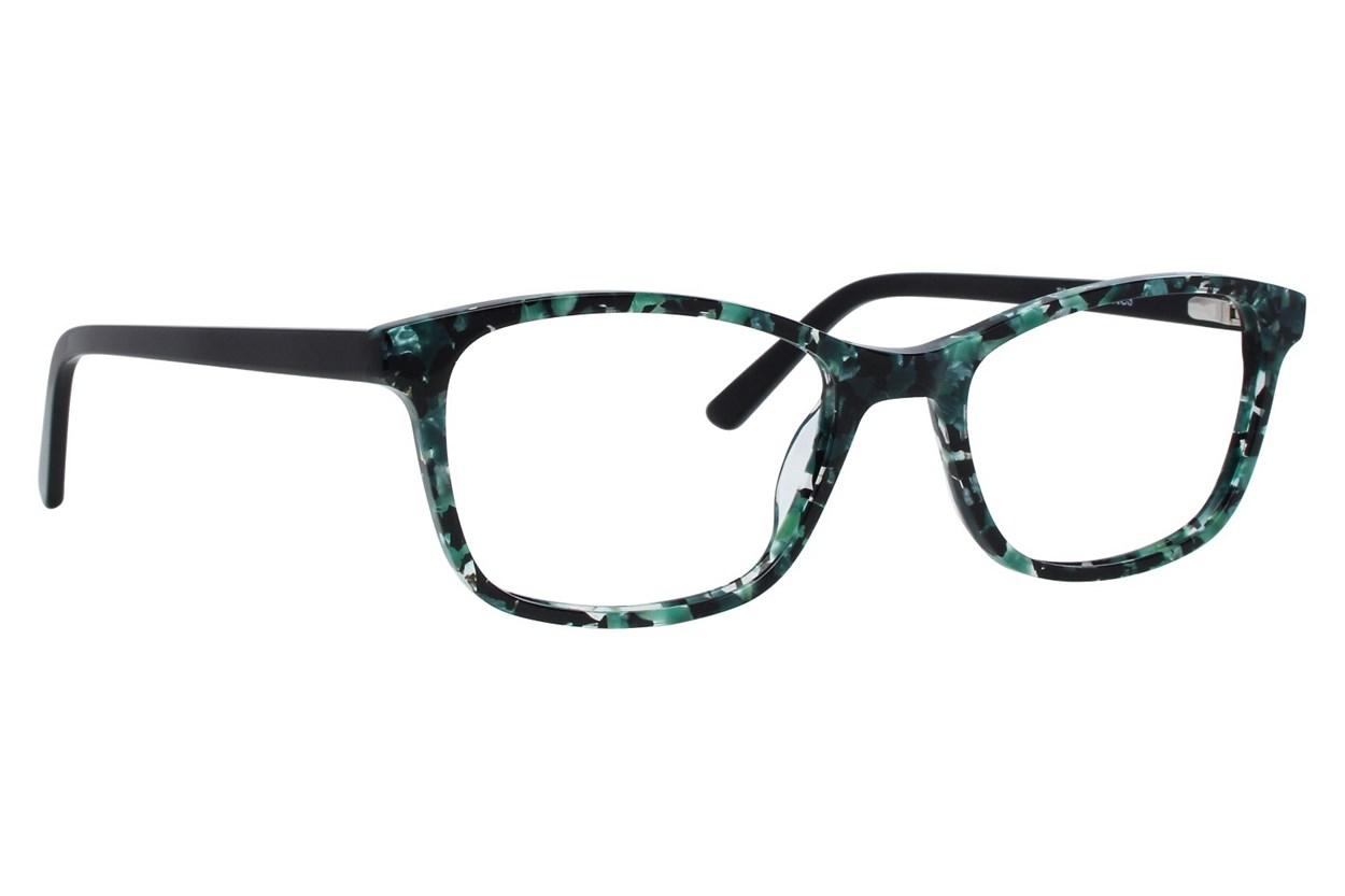 Bloom Optics Petite Tiffany Green Glasses