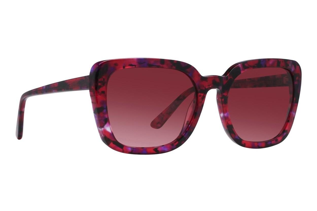 Lunettos Kira Pink Sunglasses