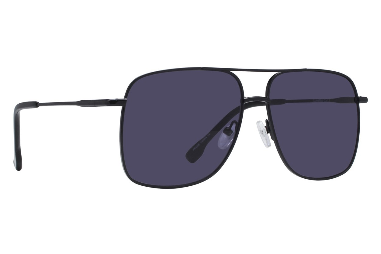 Lunettos Blake Black Sunglasses