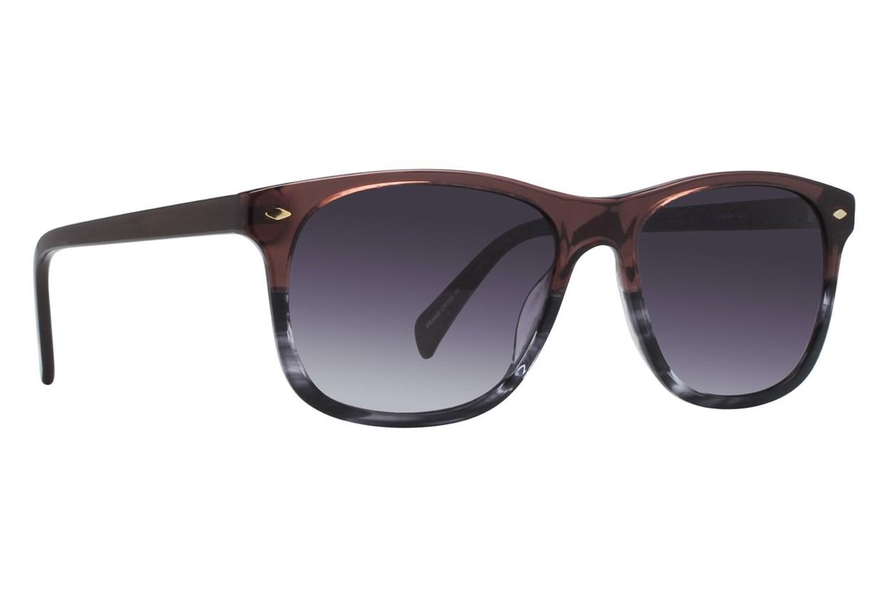 Lunettos Cam Orange Sunglasses