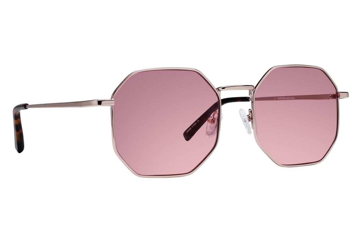 Westend Boulder Gold Sunglasses