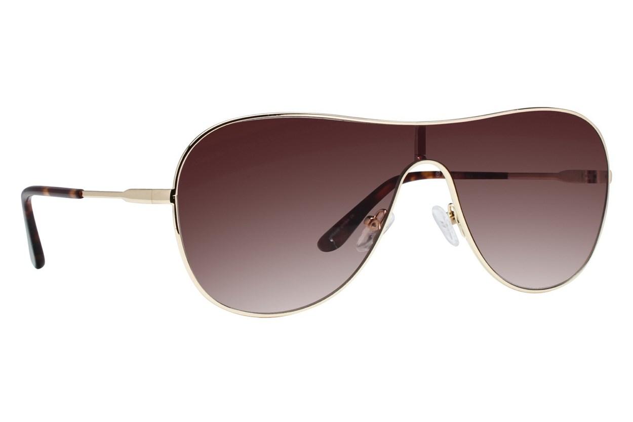 Westend Soho Gold Sunglasses