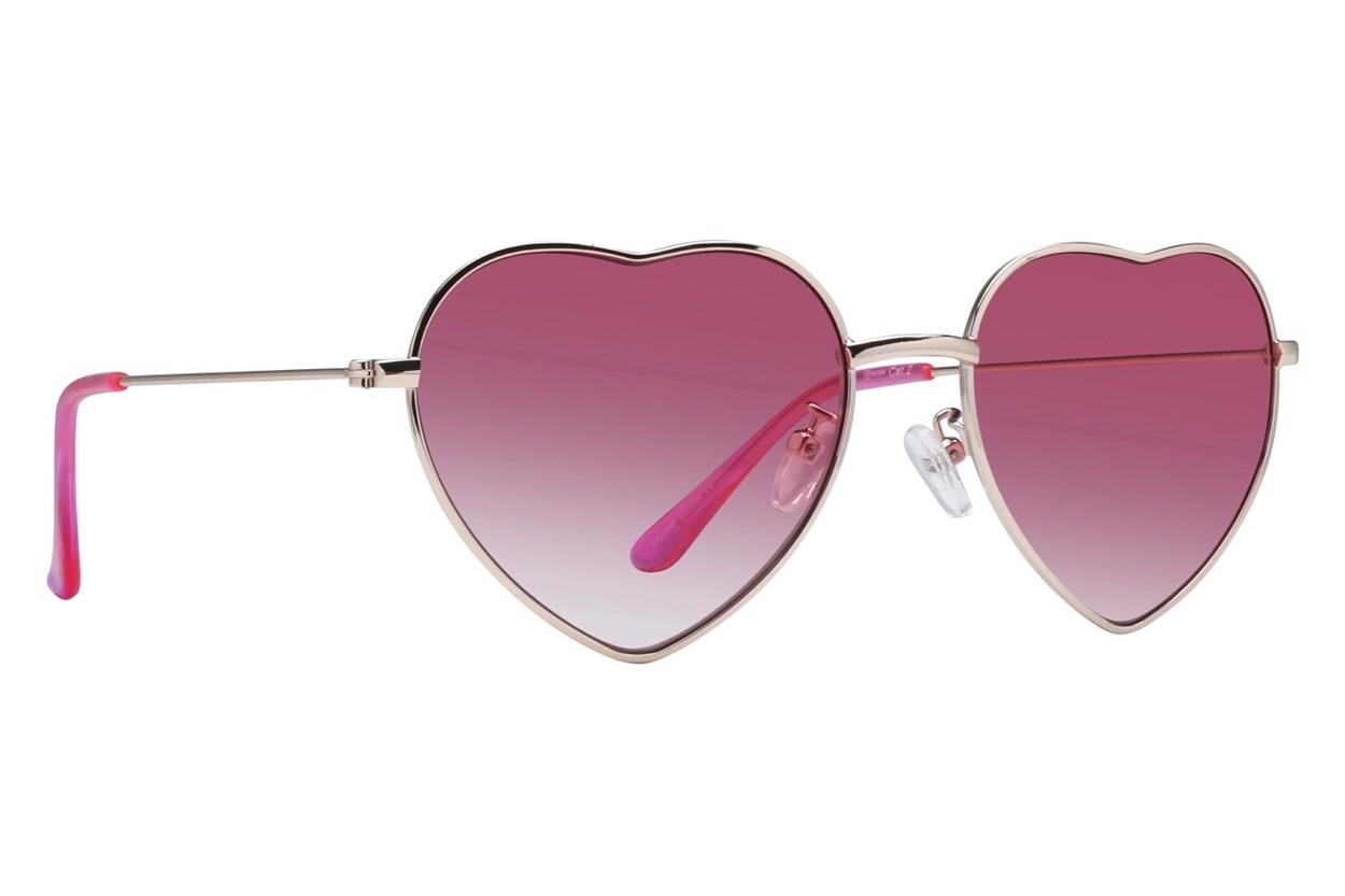 Westend Hartford Gold Sunglasses