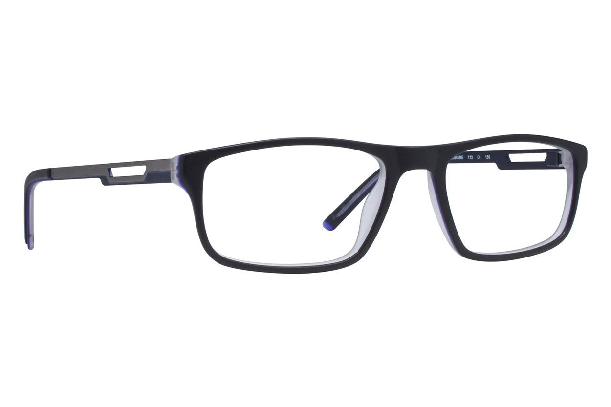 Shaq QD 142Z Black Glasses