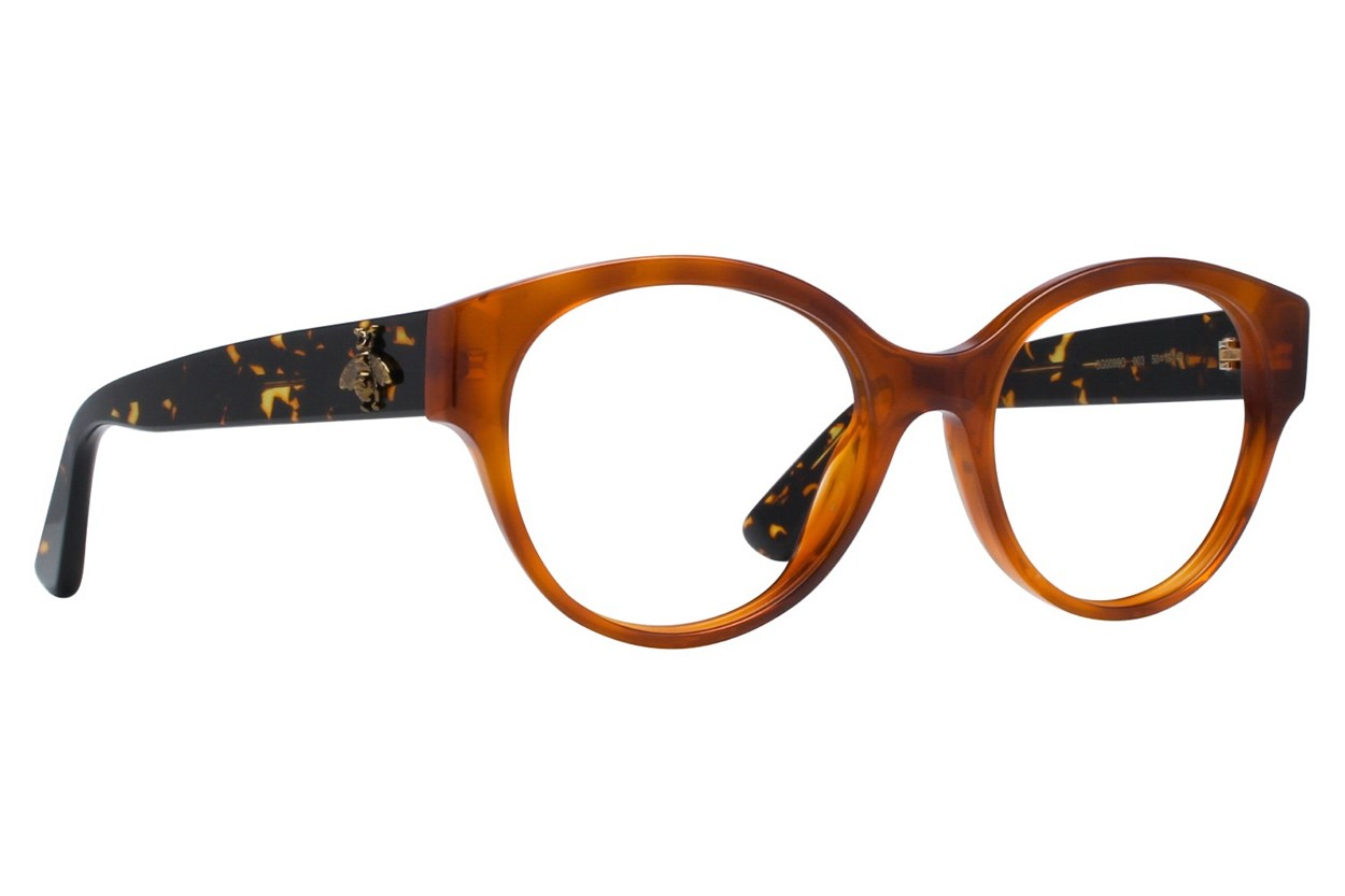 Gucci GG0099O Tortoise Glasses