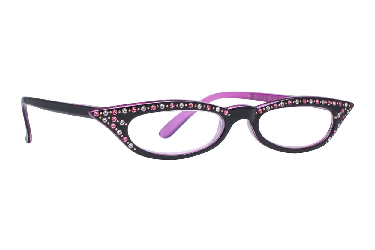 I Heart Eyewear Kitty Pink Black