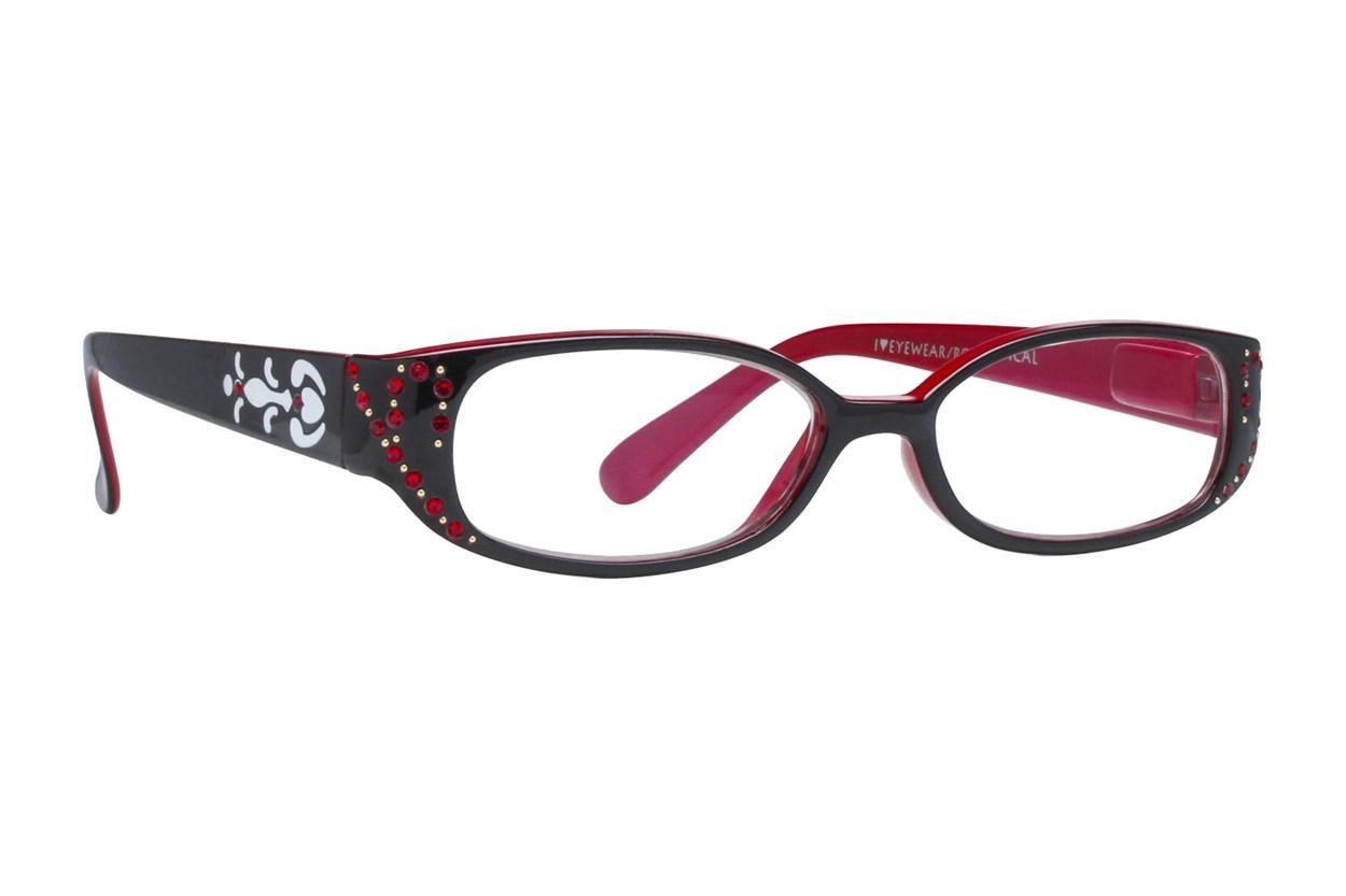I Heart Eyewear Jules Readers Black ReadingGlasses