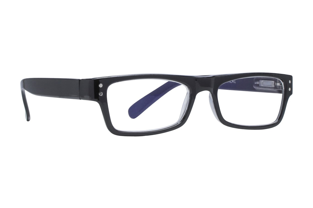 I Heart Eyewear Carson Black ReadingGlasses