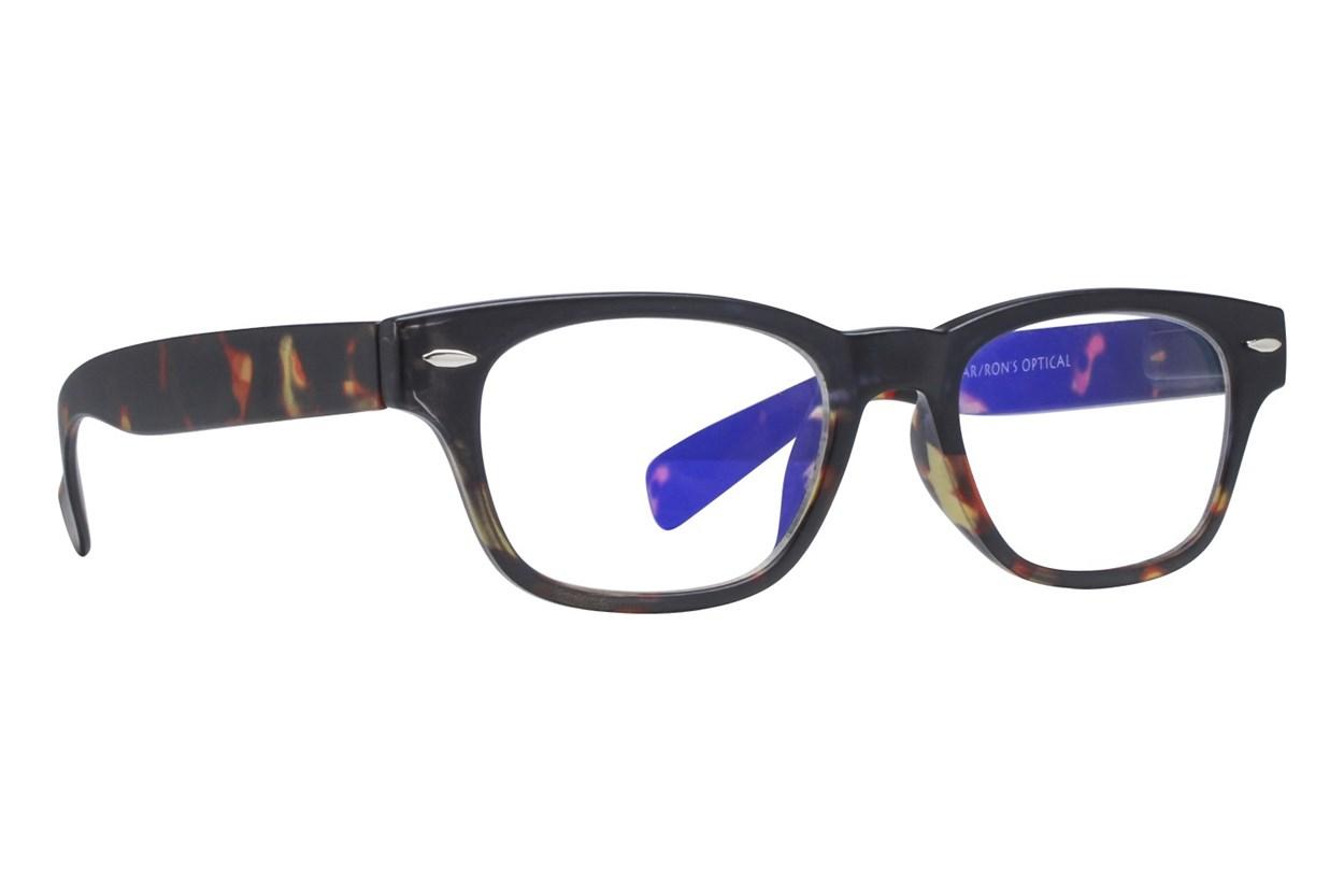 I Heart Eyewear Ziggy Computer Glasses Black ComputerVisionAides