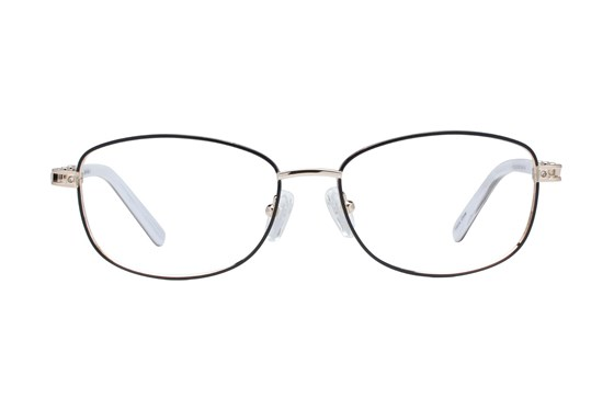 Eight To Eighty Eyewear Phyllis Black Glasses