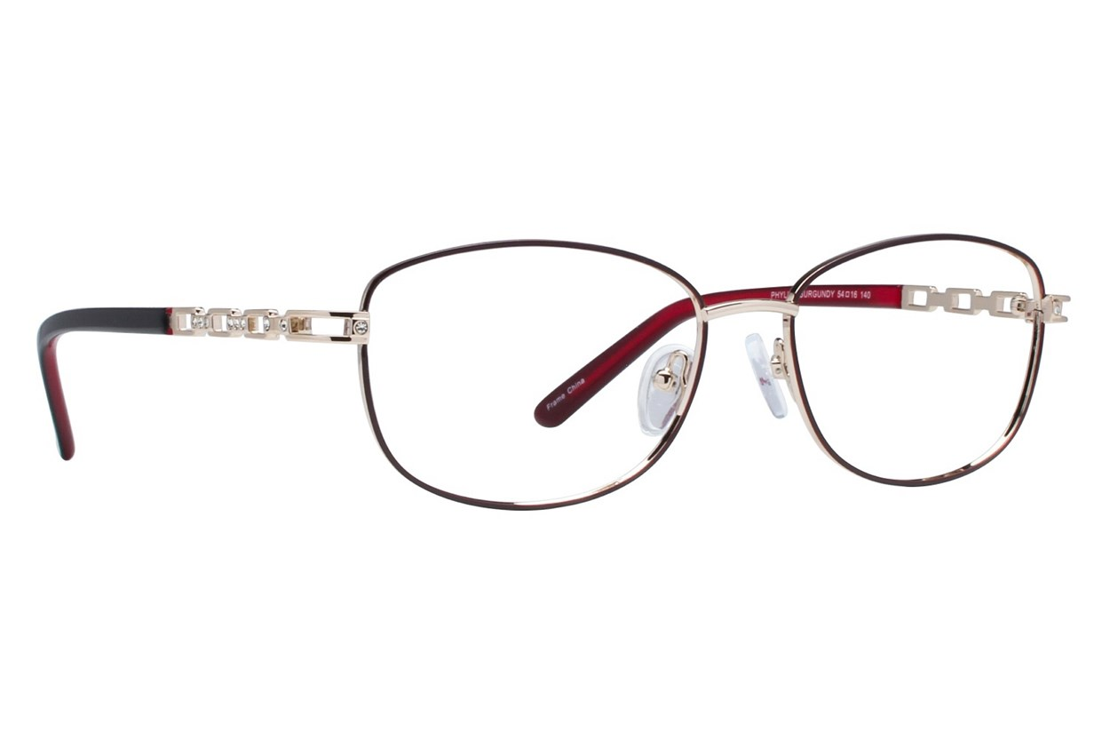 Eight To Eighty Eyewear Phyllis Red Glasses