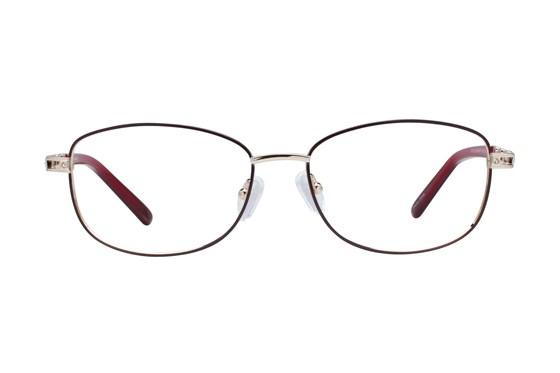 Eight To Eighty Eyewear Phyllis Red Glasses