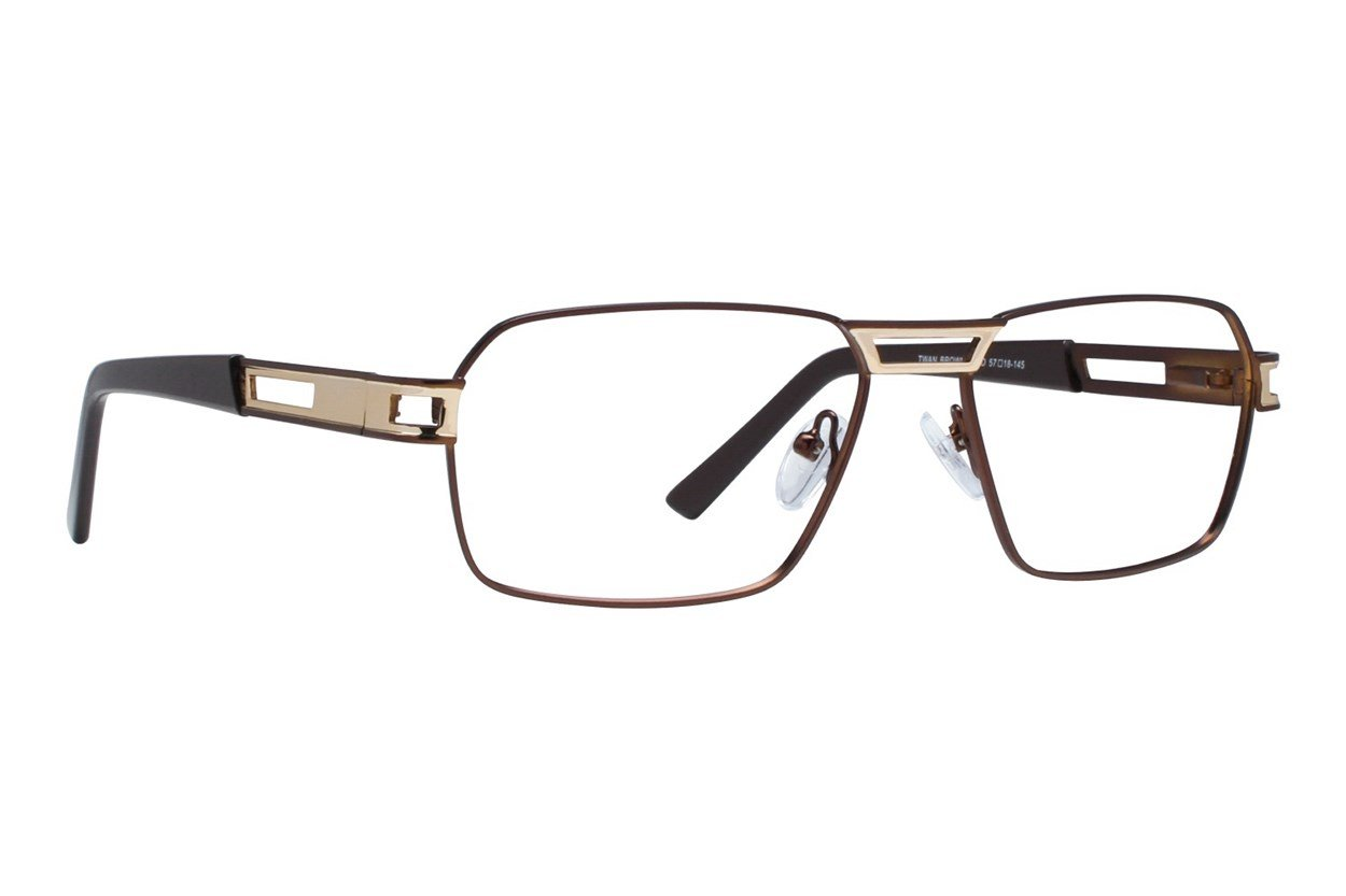 Eight To Eighty Eyewear Twan Brown Glasses