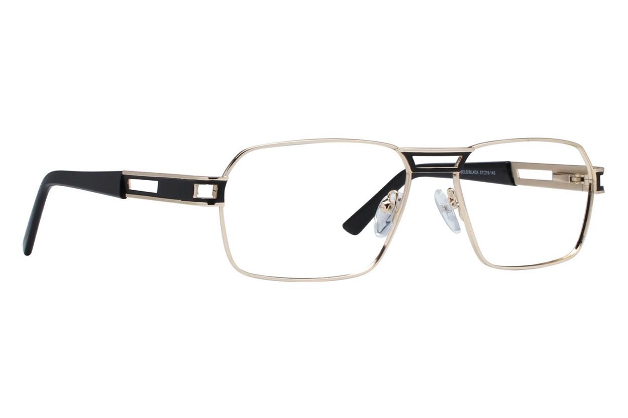 Eight To Eighty Eyewear Twan Gold Glasses