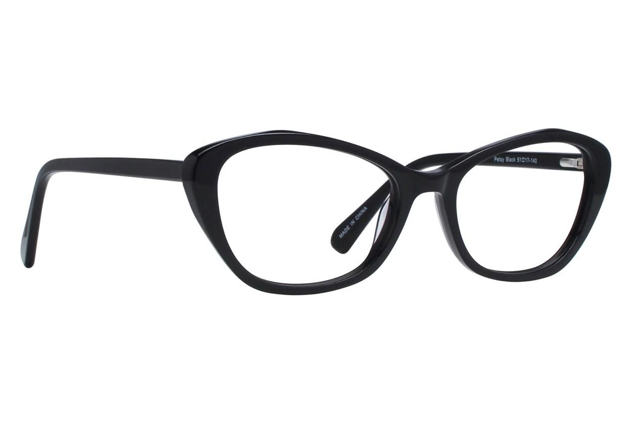 Eight To Eighty Eyewear Petsy Black Glasses