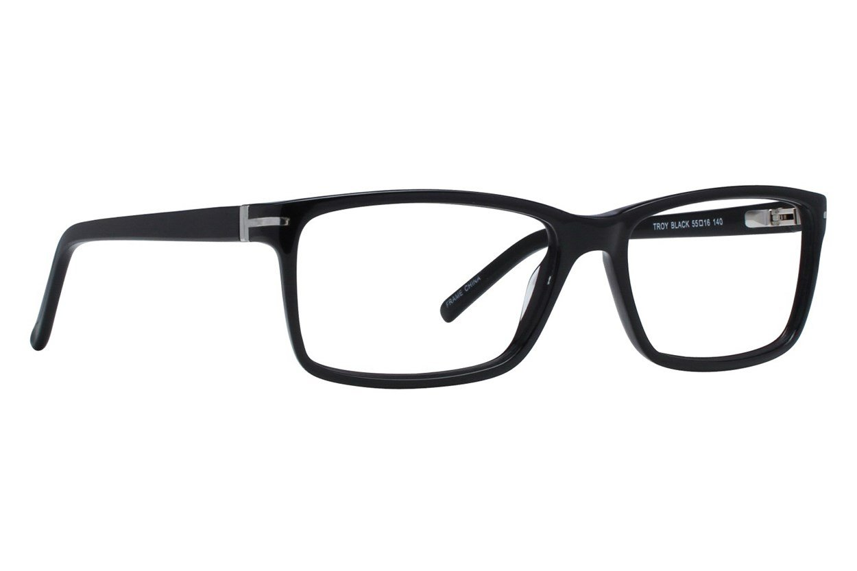 Brooklyn Heights Troy Black Glasses