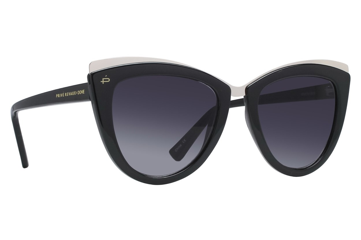 Prive Revaux Celeste Black Sunglasses