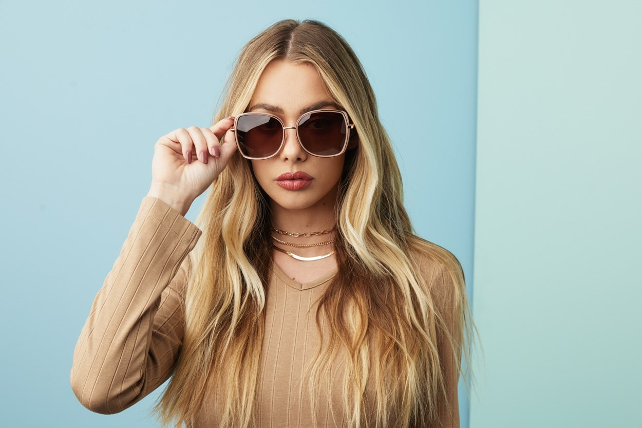 Alternate Image 1 - Prive Revaux Real Deal Pink Sunglasses