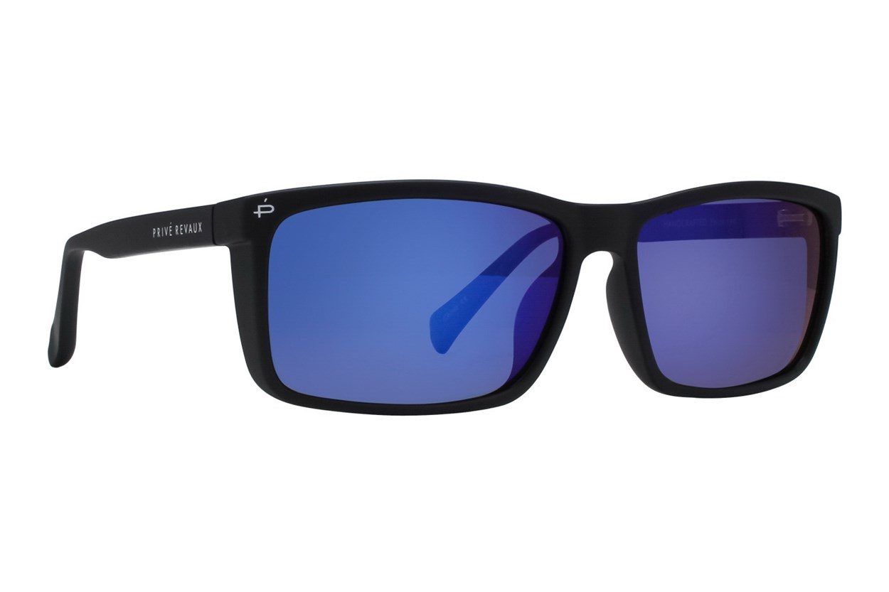 Prive Revaux Man Made Black Sunglasses