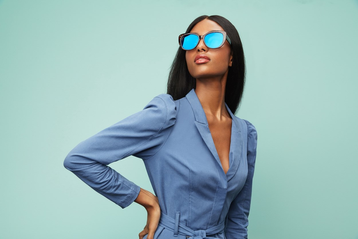 Alternate Image 1 - Prive Revaux Over the Moon Red Sunglasses