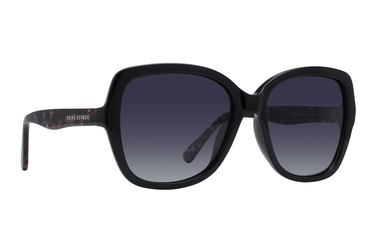 Prive Revaux To The Gables Black Sunglasses