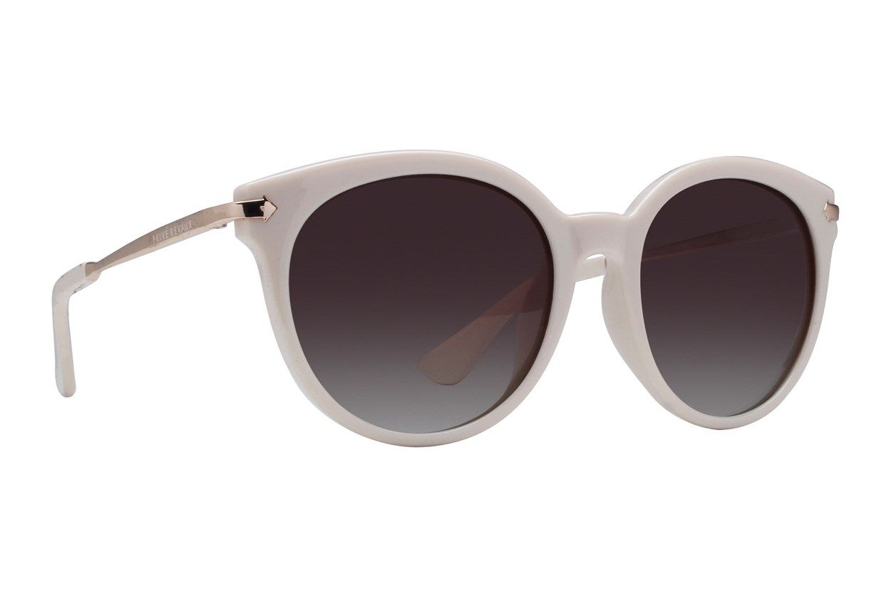 Prive Revaux FT Lavish White Sunglasses