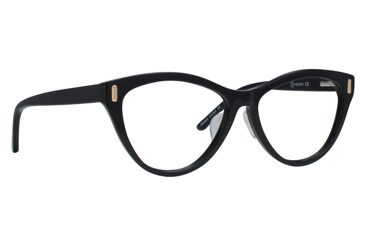 Westend Merion Village Comfort Fit Black Glasses