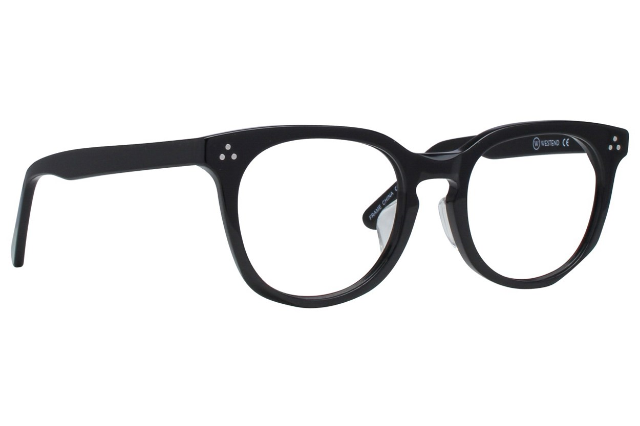 Westend Wyndham Ridge Comfort Fit Black Glasses