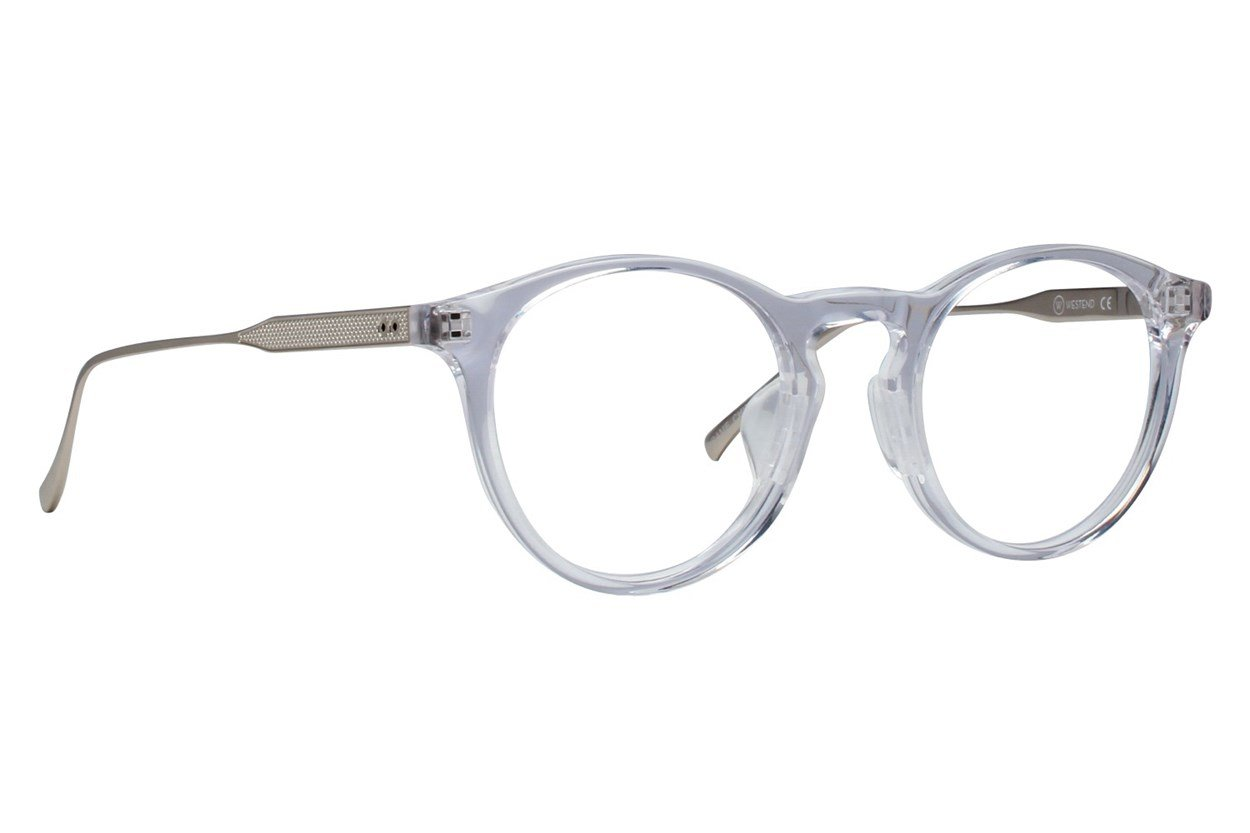 Westend Victorian Village Comfort Fit Clear Glasses