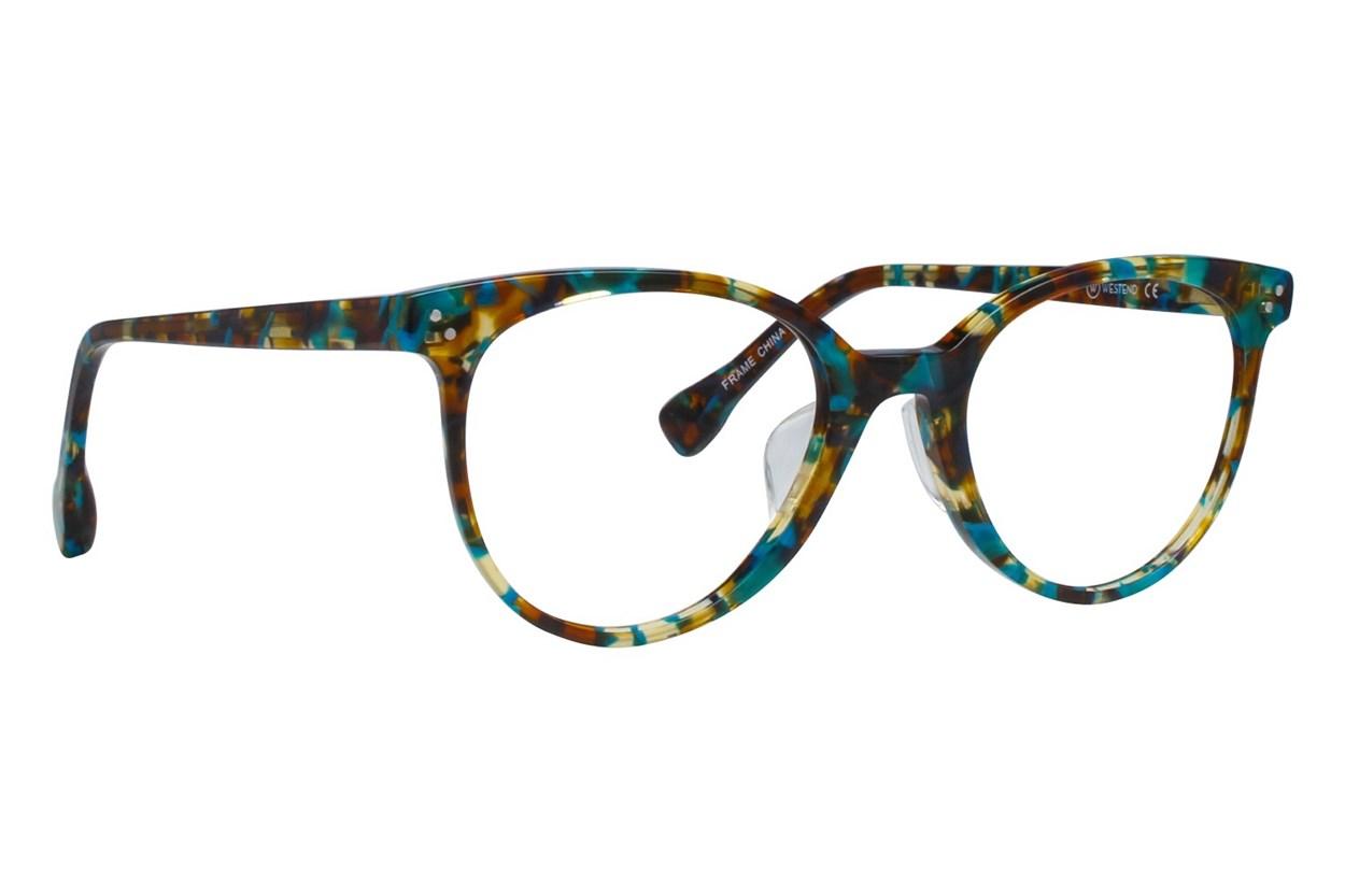 Westend Mill Creek Comfort Fit Blue Glasses