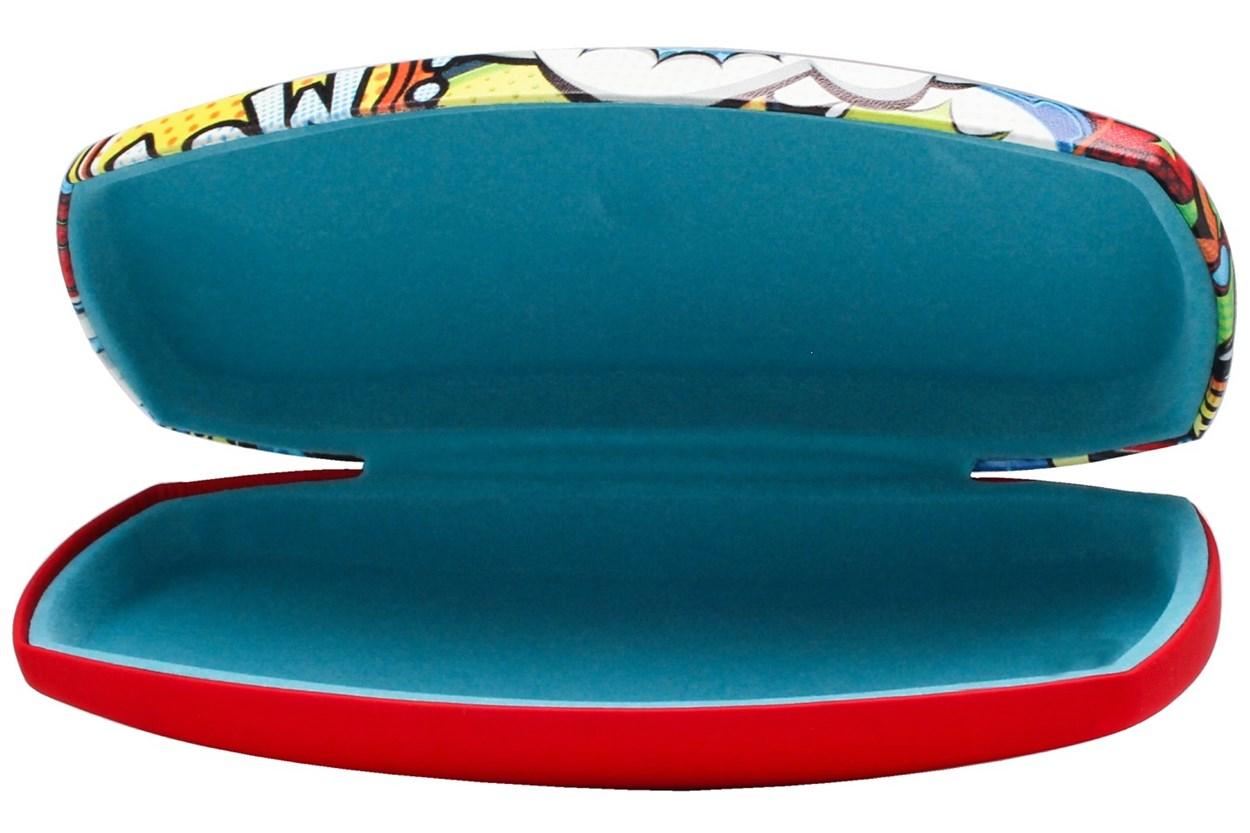 Alternate Image 1 - CalOptix Comic Book Eyeglass Case Red GlassesCases