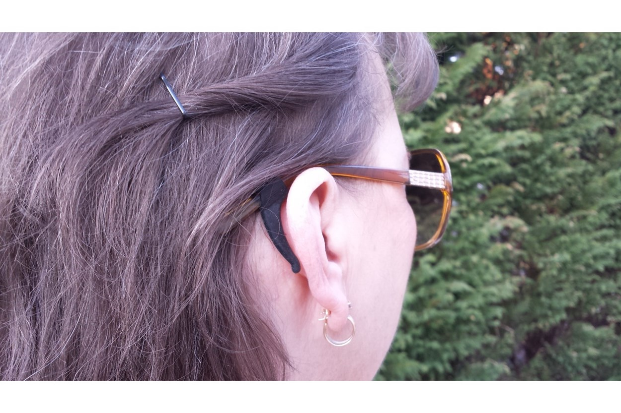 Alternate Image 3 - Stay Puts Removable Ear Lock Black OtherEyecareProducts