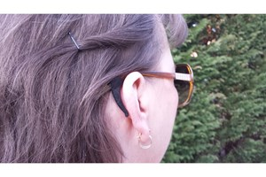 Click to swap image to alternate 2 - Stay Puts Removable Ear Lock Black OtherEyecareProducts