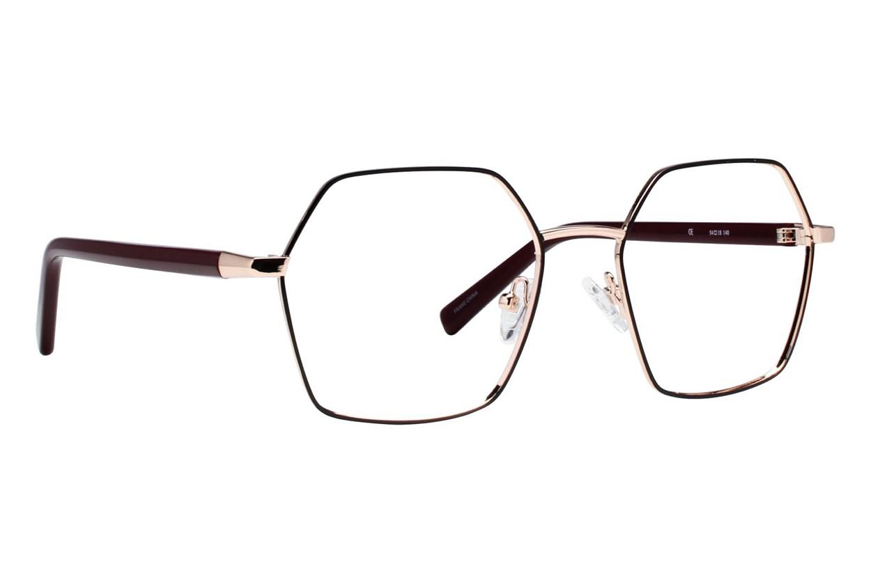 Dereon DOV545 Black Glasses