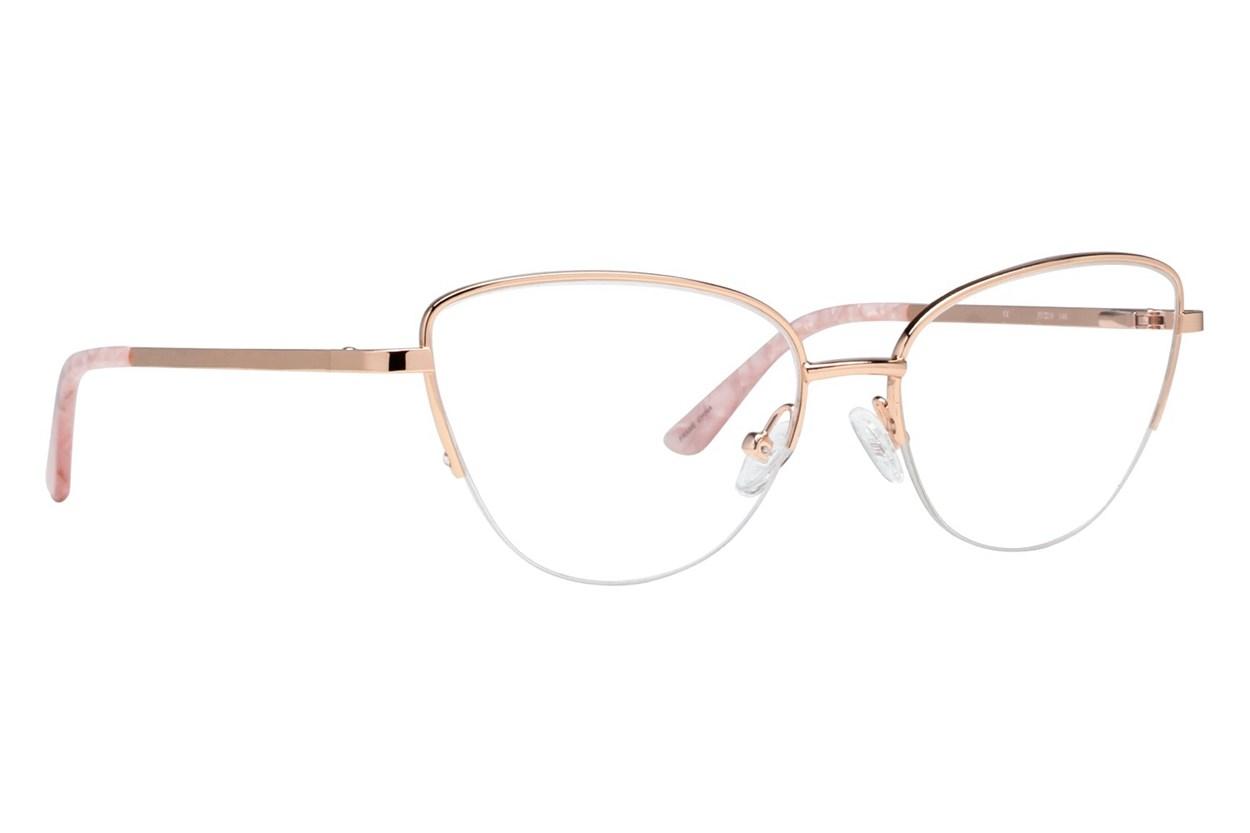Oleg Cassini OCOV669 Gold Glasses