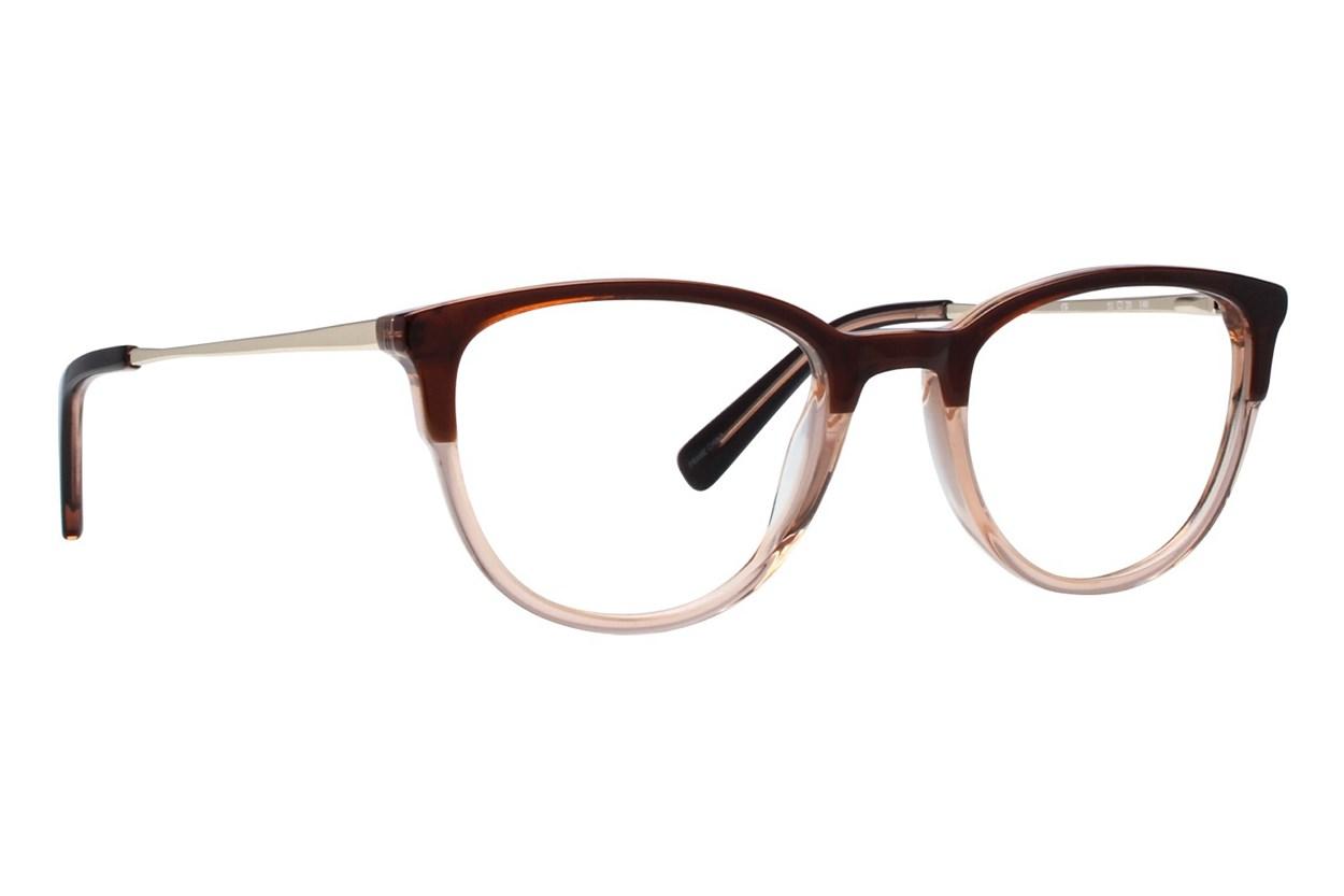 Oleg Cassini OCOV543 Brown Glasses