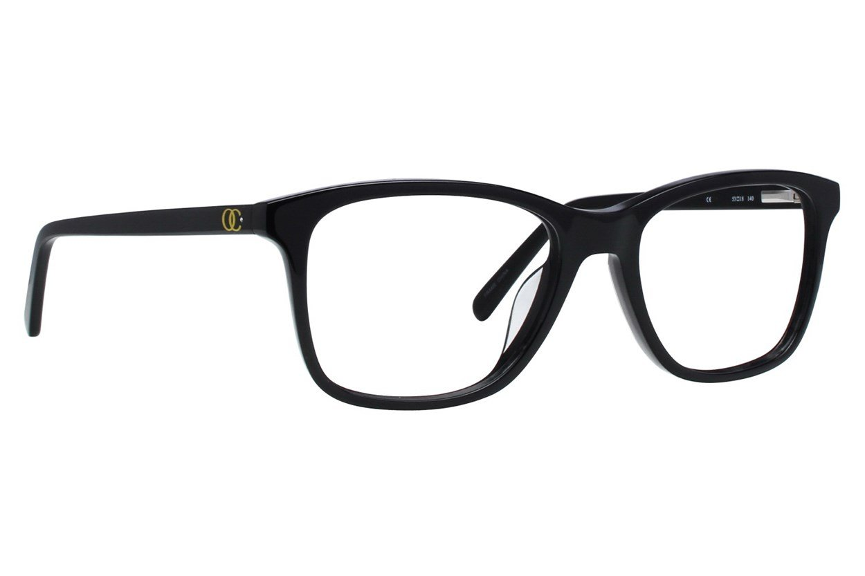 Oleg Cassini OCOV4001 Black Glasses