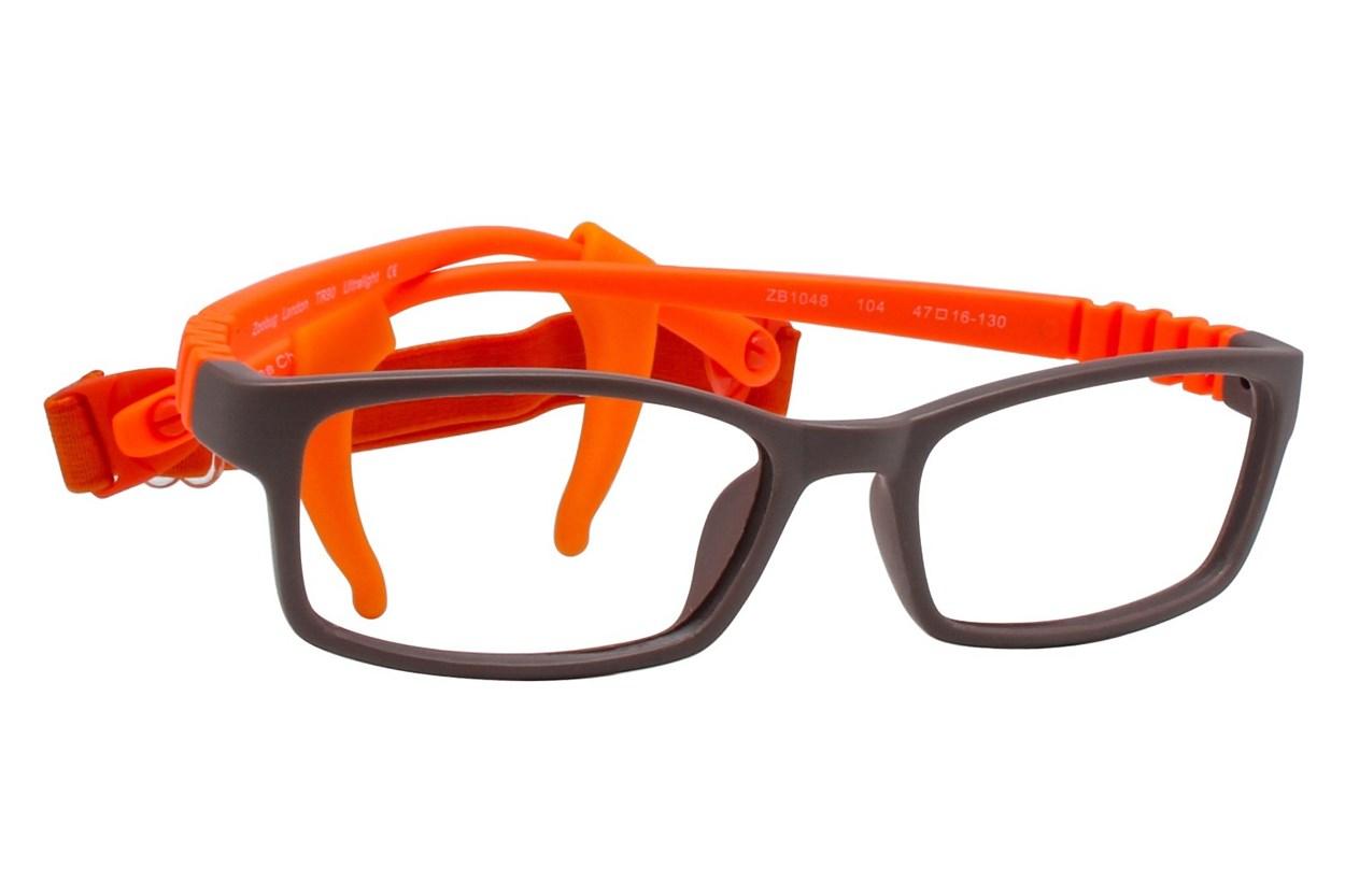 Zoobug ZB1048 Brown Glasses
