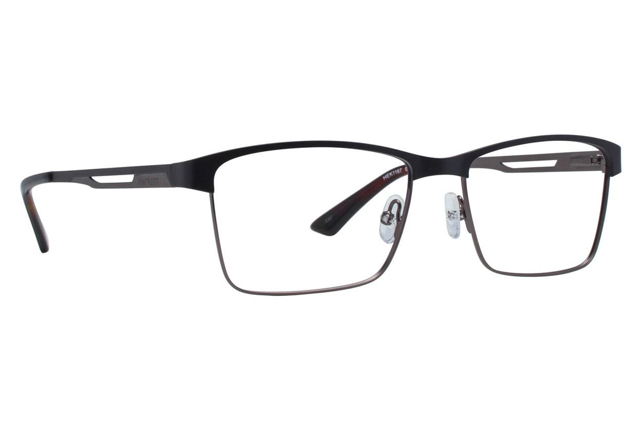 Hackett London Large Fit HEK1167 Black Glasses
