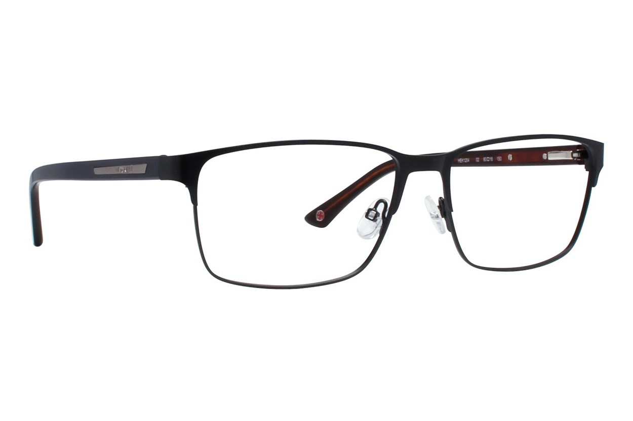 Hackett London Large Fit HEK1204 Black Glasses