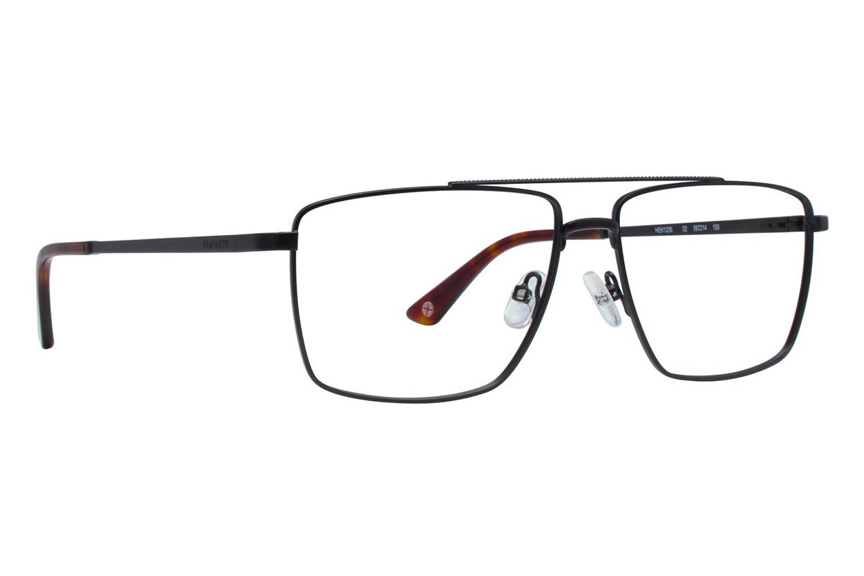 Hackett London Large Fit HEK1206 Black Glasses
