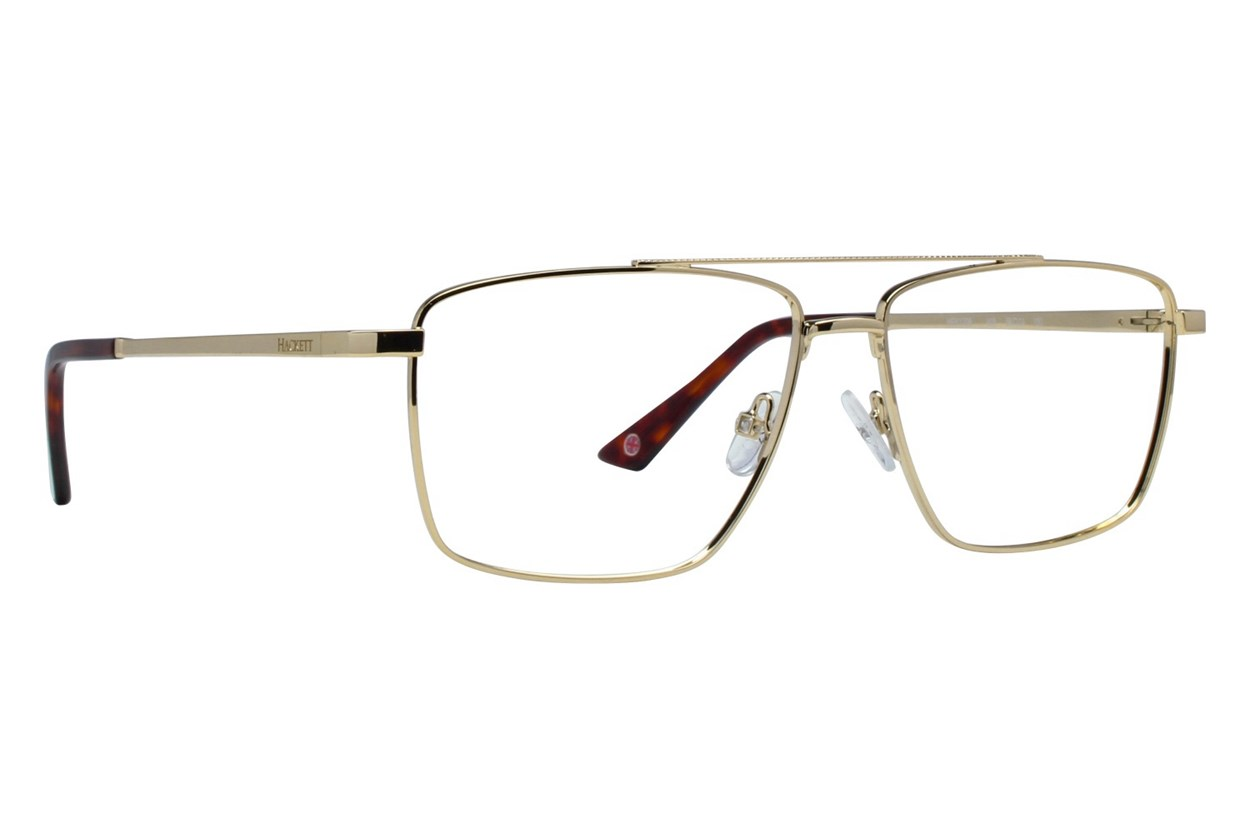 Hackett London Large Fit HEK1206 Gold Glasses