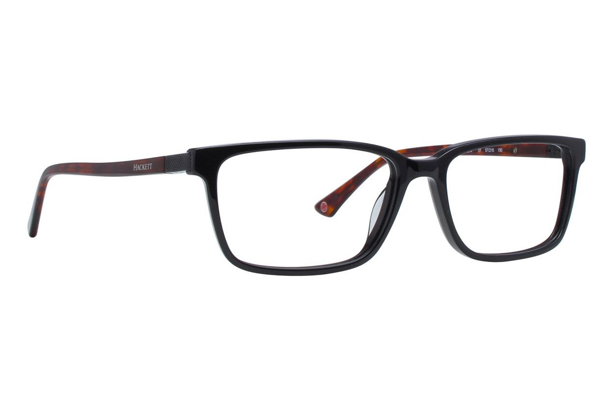 Hackett London Large Fit HEK1214 Black Glasses