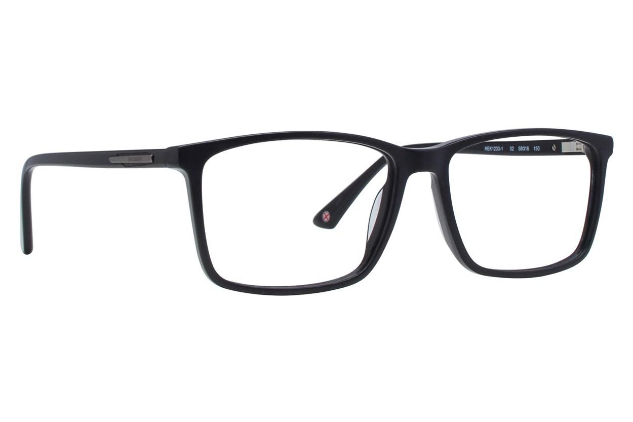 Hackett London Large Fit HEK1233 Black Glasses